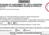 Form-11: Notice of Assessment